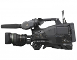 Sony PMW500 XDCAM HD422 Camcorder recording HD material at up to 50Mb/s onto Solid State media