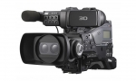PMWTD300 3D XDCAM EX shoulder camcorder with dual three 1/2-inch type Exmor CMOS sensors