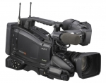 Shoulder Mount Full-HD & SD* Camcorder with SxS PRO Solid State Recording, 2/3-inch sensors and 16x zoom HD