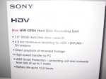 (Discontinued) Sony HVRDR60, Sony 60Gig 1.8 inch Hard Drive = upto 4.5hrs of DV or HDV
