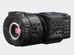 Sony NEX-FS700 4K-ready Super 35mm Exmor CMOS sensor NXCAM camcorder with E-Mount lens system