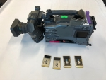 2 x Panasonic HPX 502 with Fujinon Lenses for sale