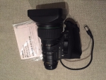 Canon KRS SX12 BCTV Zoom Lens IFpro SD lens YJ 20x8.5 2/3 inch