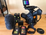 Canon EOS C300mk1 EF Camcorder with 276 hrs & Accessories