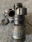 "Canon HJ22ex7.6B-IASE-A eHDxs 22x 2/3"" ENG Lens & Zoom Demand"