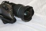 """Canon KJ10EX4.5B IRSE A 2/3"""" Portable ENG 10x Zoom Lens & Filter."""