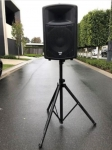 Laney CX12A 165 watt loudspeaker. Used rarely and has been kept in storage. In excellent working order. Size is approximately 62cm high, 42cm wide and 32 cm deep.
