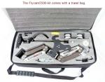 Flycam5500 steadycam camera stabilization system and -Vest for cameras up to 5kg