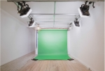 Fully-equipped, 18-month old in-office studio - Lighting, Backgrounds, stands etc..