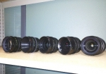 Illumina S35 High Speed Cine Primes by LOMO, 18mm, 25mm, 35mm, 50mm & 85mm T1.3/PL mount, in NEW Pelican case