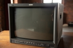 JVC Color Video Monitor Model TM-H1750CG