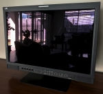"**SOLD** JVC  Professional Native HD 24"" Flat Panel Studio Monitor - SDI"