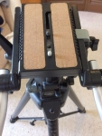 **SOLD** MANFROTTO 075B Tripod Legs and 116MK2 Fluid Video Head