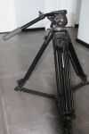*** SOLD ** Manfrotto Pro Kit with 525MV Alloy Tripod Legs, 503HDV Pro Fluid Head, Pan handle, Bottom spreader and Case.