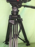 Miller Arrow 25 tripod - Carbon fiber 2 stage legs, middle spreader. Available