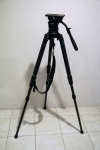 ** Sale Pending **Miller Compass 25 Carbon Fiber Solo Tripod with Case and Plate