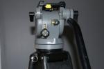** Sale Pending** Miller DS-25 Fluid head tripod with Aluminium legs, Spreader, Case & Plate
