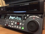Near New Sony DVW-M2000P Only 75 Drum Hours