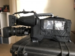 Panasonic DVCPRO P2 camera AJ-SPX800 with lots of accessories