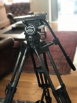 Sachtler Video 20 Tripod Very Good Condition with Cases.