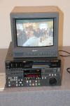 Sony DVW-500P Digital Betacam Player/Recorder with just 590 original Hrs.