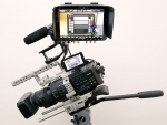 Sony FS 700 4K camera with Movcam cage /Odyssey 7Q Monitor&Recorder/Miller Tripod  Complete Package