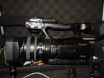 Sony HVR-V1P HDV 1080i/1080p, 50i/25p PAL Cinema Style Camcorder