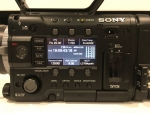 Sony PMW-F55 CineAlta 4K Digital Cinema Camera with VF and Accessories incl. rails, slick and handle + more.
