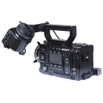 Sony PMW-F55 Compact CineAlta Camera, Sony DVF-EL100 V/F, XLR Audio Input Box, FZ-PL Mount Lens Adaptor, V-LOCK Battery Adaptor. Excellent Condition just 950 Hrs