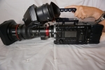 Sony PMW-F55 Just 300+ hrs, V9 Firmware , Dvf-l350 viewfinder, 2x BPL75 Batteries, 2x SxS 128GB Cards & Shape bundle rig & Sony Dual Charger