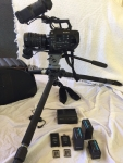 **SOLD** Sony PXW-FS7 4K XDCAM Super35 Camcorder Kit with 28 to 135mm Zoom Lens, Batteries,Memory Cards, Charger & Case - Good condition just 311 Hrs